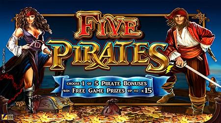 Five Pirates Slot Machine